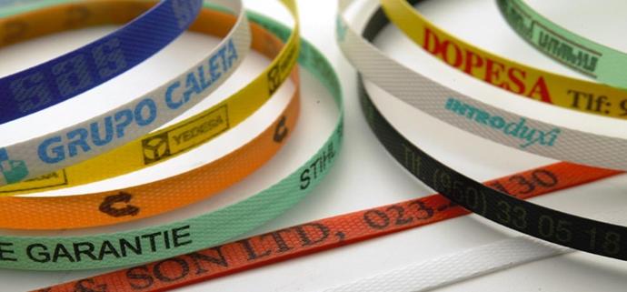 cinta plástica personalizada